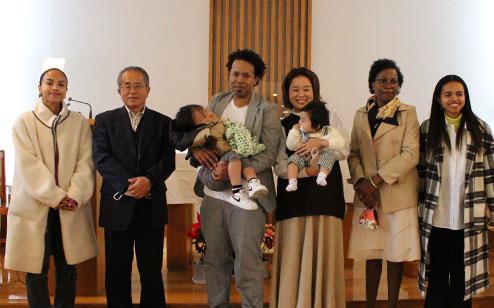 日本福音ルーテル宮崎教会 礼拝の風景
